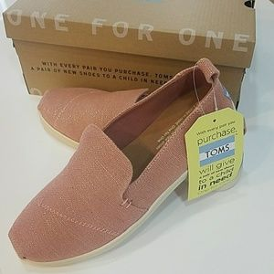 818398dd2ec Toms Shoes - NEW Toms VEGAN Metallic Bloom Jute Alpargatas 6.5